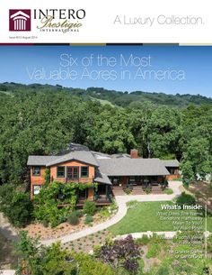 Intero Prestigio Magazine | A Luxury Real Estate Collection - Issue 13  A luxury collection from Intero Real Estate Services of the finest and most exclusive homes.   Here at Intero, we're always working to stay ahead of the curve and offer the best service possible to today's homeowners. The Prestigio system provides an elevated level of service through its elite selection of marketing tools set up to expose your home to relevant markets locally, nationally and globally. From the sign that…