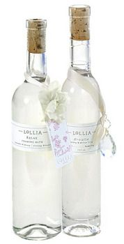 Bubble Bath- A rich exotic blend of Lavender, Bee Blossom Honey with White Orchids and warm, woody undertones of Indian Amber delicately completed with a touch of Tahitian Vanilla. Bottle is so pretty I have it in my bathroom