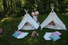 Glam Camping Birthday Party Ideas | Photo 6 of 120 | Catch My Party
