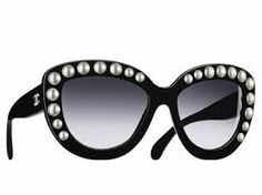 Chanel pearl encrusted sunglasses. - Sale! Up to 75% OFF! Shop at Stylizio for women's and men's designer handbags, luxury sunglasses, watches, jewelry, purses, wallets, clothes, underwear