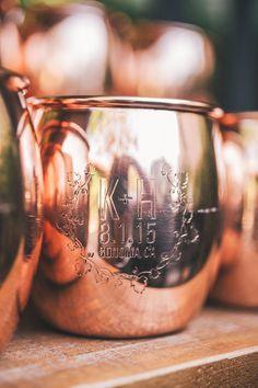 Custom moscow mule mug favor