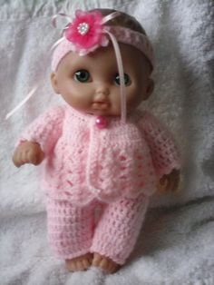 Crochet pattern for Lil Cutesies Berenguer 85 doll  by petitedolls, £2.50