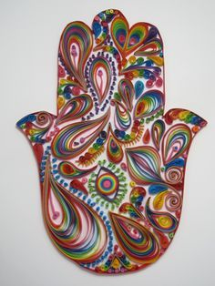 Quilled Hamsa #quilling #hand of Fatima   Quilling   Pinterest