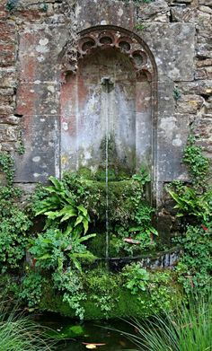 My inner landscape: Photo Water Features In The Garden, Garden Features, Gazebos, Peonies Garden, Garden Fountains, Garden Structures, Water Garden, Herb Garden, Garden Styles