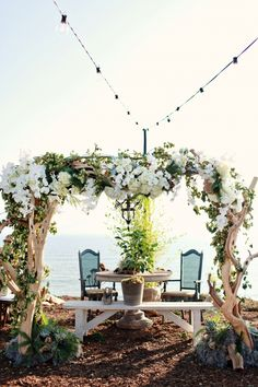drift would as the arbor!  What a wonderful idea - beautiful!