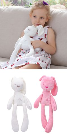 SunshineFace Toddler Baby Safety Towel Blanket Infant Appease Cotton Plush Set Cartoon Animal Doll