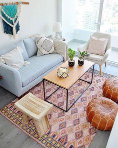 Living Pequeños, Living Room, New Homes, Table, House, Furniture, Instagram, Blog, Home Decor