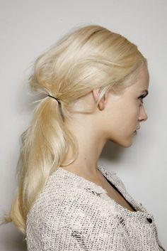 ♥ ponytail