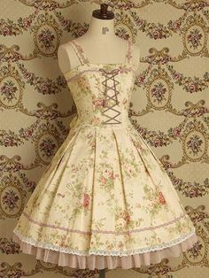 floral lolita dress via mary magdalene wishlist | Big Fashion Show lolita dress