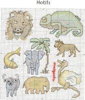 "Gallery.ru / KIM-3 - Альбом ""1"" Cross Stitch Animals, Stuffed Animal Patterns, Otters, Bunny, Kids Rugs, Embroidery, People, Animals, Koalas"
