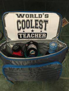 Teacher appreciation idea for a male teacher