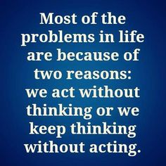 Thinking is what powers your outlook on life and business!