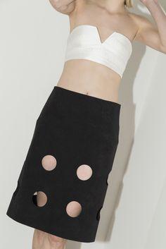 Black Damien Skirt