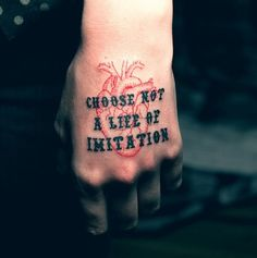 #word #tattooquotes #wordstoliveby
