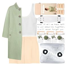 """""""memories..."""" by cinnamon-and-cocoa ❤ liked on Polyvore featuring мода, Chloé, Mikimoto, NIKE, Marni Edition, Burberry и Love Quotes Scarves"""