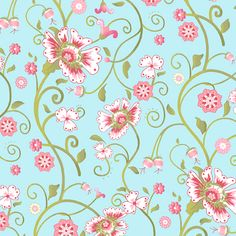 A-5956-LT by Andover Fabrics from the French Blossoms collection.