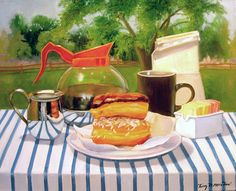 Terry Romero Paul | OIL | Breakfast with a View