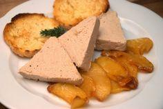 Patè di fagiano e mele caramellate