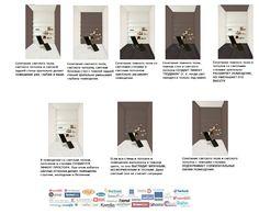 Цветовые сочетания в интерьере. Оптическое влияние цветов пола, потолка и стен на восприятие пространства помещения ― 2007-2014 Интернет-магазин ковролина, ламината, линолеума для дома и офиса. Оптом и в розницу. Паркетная и массивная доска. Стальные входные двери. Приятные низкие цены.