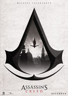 """pixalry: """"Assassin's Creed Movie Poster - Created by Ben Harman"""""""