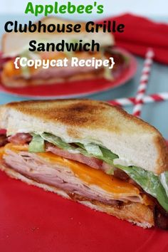 Applebees Clubhouse Grille Sandwich {Copycat Recipe}