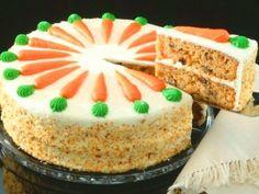 Receta de Pastelito de Zanahoria Para Cumpleaños   Es una pastel de zanahoria súper fácil de hacer, rico para regalar y lo puedes utilizar en los cumpleaños.