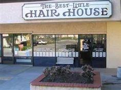 rustic hair salon