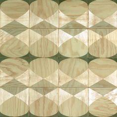 coolest plywood tiles