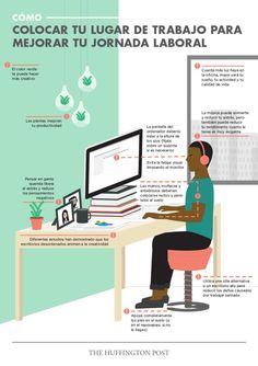 Una interesante infografía que nos muestra Alfredo Vela con buenos consejos para ser más prductivos en el trabajo: