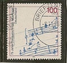 Germany Scott 1948 Music Festival Used .65