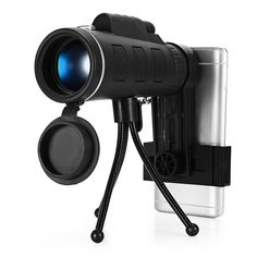40x60 Dual Focus Outdoor Mini HD Monoculars for Cell Phone Camera