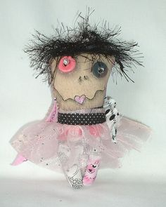 Mini Monster Voodoo Doll - Ornament