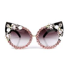 4b02bcf40 Luxury Cat Eye Floral Sunglasses - Pawsome Couture Cat Eye Sunglasses,  Sunglasses Women, Luxury