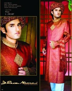 Latest Winter Sherwani Designs 2014 For Men (19)