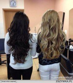 Najlepsza stylizacja z 24 marca: DŁUGIE WŁOSY brąz i blond od: megiiis