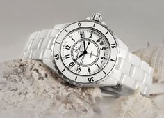 wholesale of branded items mens japan mov't stainless steel watch, fashion white ceramic watches