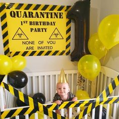 Who having a lockdown birthday? This guys celebrating his! 😂 Birthday Party At Home, Boy First Birthday, First Birthday Parties, Birthday Party Decorations, First Birthdays, Birthday Banners, Birthday Ideas, Birthday Themes For Boys, 12th Birthday