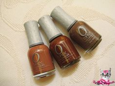 ORLY Nail Lacquer in Coco Beach, Hot Chocolate & Prince Charming