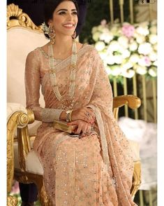 Where To Find Cheap Wedding Dresses Online , Other than attending to marry the person of their goals, one of many main issues of most brides is their wedding ceremony gown. Their wedding ceremony day is , Desi Wedding Dresses, Pakistani Formal Dresses, Pakistani Wedding Outfits, Nikkah Dress, Bollywood Wedding, Bollywood Saree, Wedding Gowns, Wedding Sarees Online, Cheap Wedding Dresses Online