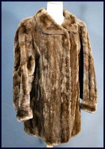 Vintage sheared beaver coat - Courtesy of boncly