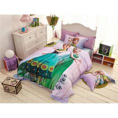 günstig Kinderbett 3D Kinder-Bettwäsche Disney Frozen Prinzessin Bedding Girls Bettset billig online kaufen