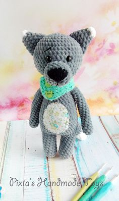 PDF Волчонок Мякиш. Бесплатный мастер-класс, схема и описание для вязания плюшевой игрушки амигуруми крючком. FREE amigurumi pattern. #амигуруми #amigurumi #схема #описание #мк #pattern #вязание #crochet #knitting #toy #handmade #рукоделие #волк #волчонок #волчок #wolf #wolfling #плюшевый #plush