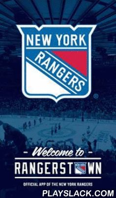 "Official New York Rangers App  Android App - playslack.com ,  Features:- Live content feed featuring latest news, photos, videos, and NY Rangers Instagram, Facebook, and Twitter feeds- LIVE game scores, play-by-play, enhanced player and team stats, standings- Head-to-head comparisons of player stats- Player profiles with headshots and stats- Schedule and links to purchase tickets- Order merchandise at the game- Can't make it to the game? Find out where to tune in with ""Where to Watch""- Photo…"