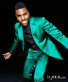 Jason Derulo chats with DuJour about what it means to be the man behind the now-branded name, what it's like to jam out with J-Lo (that's right, THE J-Lo!), and how it feels to go platinum. Derulo is pictured wearing: a Suit by Dolce & Gabbana, Shirt by Givenchy, Loafer by Tom Ford.