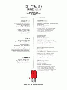 graphic cv fonctional resume - Beautiful Resumes