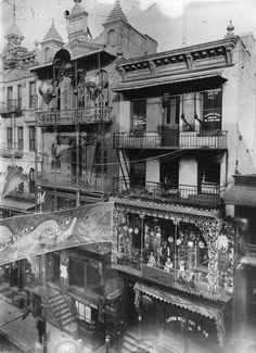 New Year celebrations in Chinatown in New York City, 1909. (Getty Images)