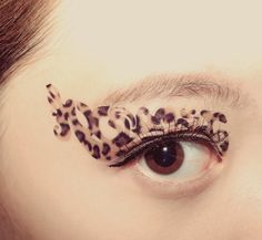 1 Pair Fake Eye Temporary Tattoo Makeup Eyeshadow Beige Leopard Animal Print Club Festival Cosplay Masquerade Party Gift Easter Spring How To Apply Eyeshadow, Eyeshadow Makeup, Eyeliner, Leopard Eyes, Leopard Animal, Tattoo Makeup, Fake Eye, Christmas Stocking Stuffers, Masquerade Party