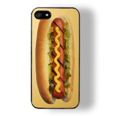 We can almost taste it! New ridiculously realistic looking hot dog case from Zero Gravity on @NYLONshop