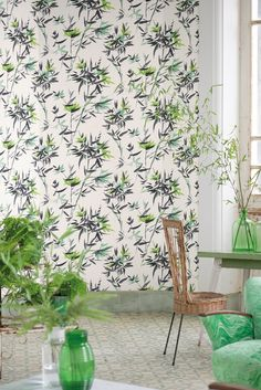Designers Guild Bamboo wallpaper