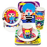 French Bull - Rock Star Collection Plates   Paper Products Online